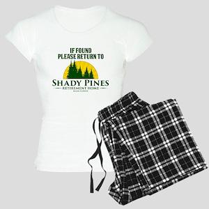 Return to Shady Pines Women's Light Pajamas