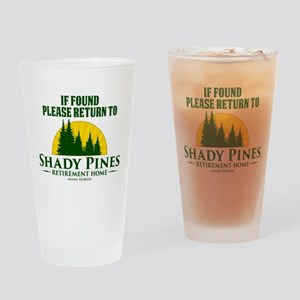 Return to Shady Pines Drinking Glass