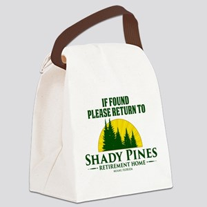 Return to Shady Pines Canvas Lunch Bag