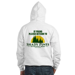 Return to Shady Pines Hooded Sweatshirt