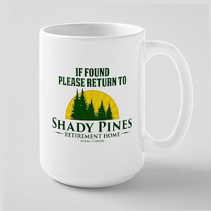 Return to Shady Pines Large Mug