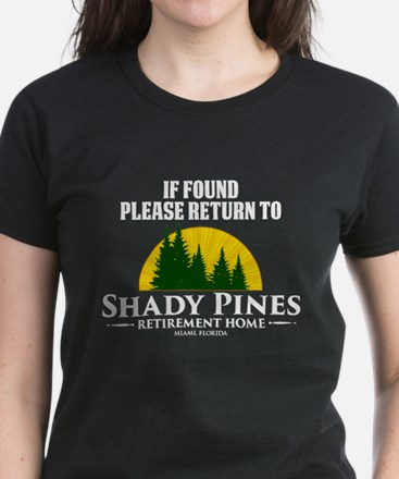 Return to Shady Pines Women's Dark T-Shirt