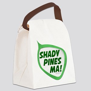 Shady Pines Ma! Canvas Lunch Bag