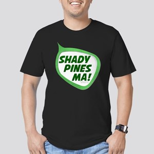 Shady Pines Ma! Men's Dark Fitted T-Shirt