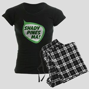 Shady Pines Ma! Women's Dark Pajamas
