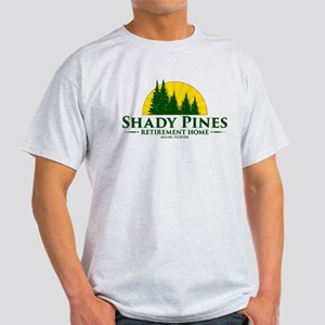 Shady Pines Logo Light T-Shirt