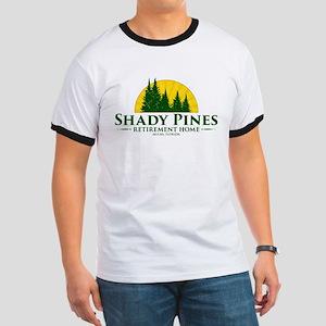Shady Pines Logo Ringer T