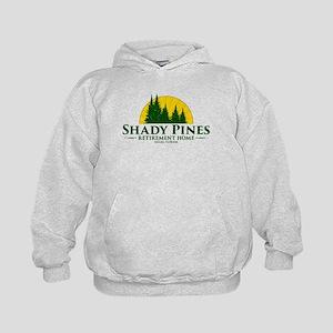 Shady Pines Logo Kids Hoodie