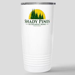 Shady Pines Logo Stainless Steel Travel Mug
