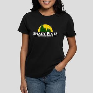 Shady Pines Logo Women's Dark T-Shirt