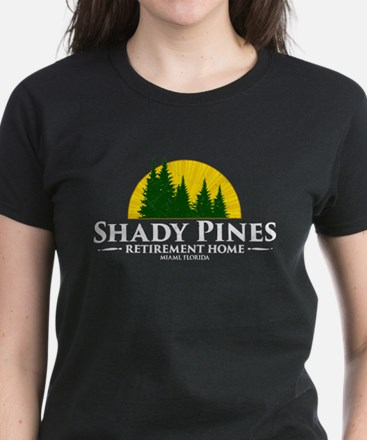 Shady Pines Logo Women's Dark T-Shirt