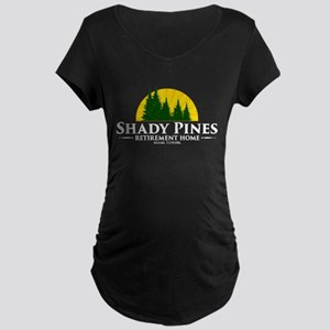 Shady Pines Logo Maternity Dark T-Shirt