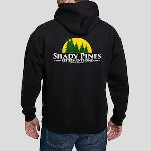 Shady Pines Logo Hoodie (dark)