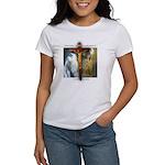 Crucifix/Pieta/St Francis Women's T-Shirt