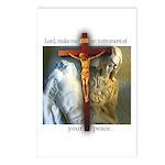 Crucifix/Pieta Postcards (8)