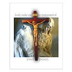 Crucifix/Pieta Small Poster