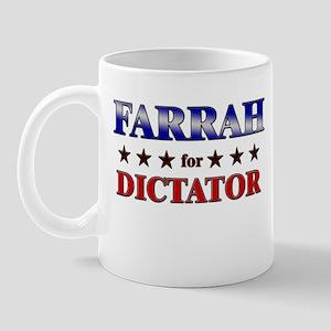 FARRAH for dictator Mug