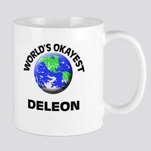 World's Okayest Deleon Mugs