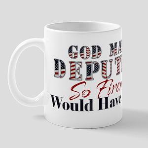 God Made Deputy Mug