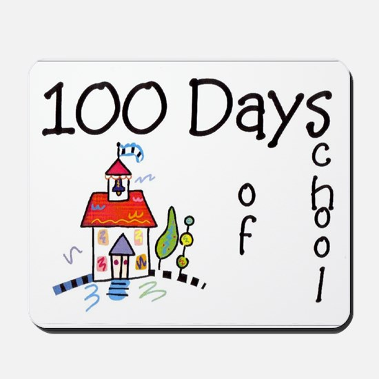 100th Day Schoolhouse Mousepad