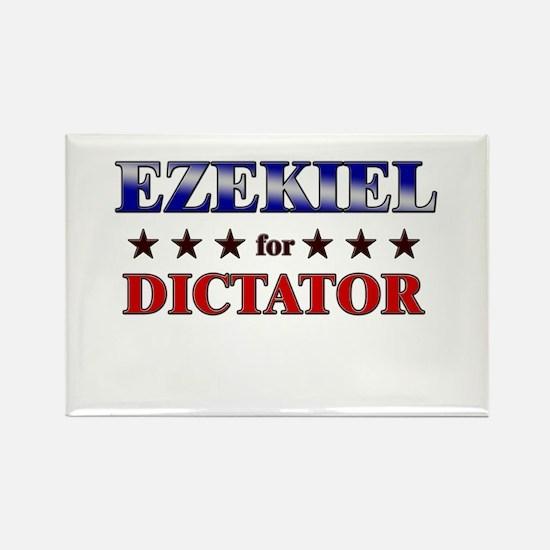 EZEKIEL for dictator Rectangle Magnet