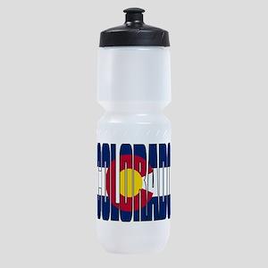 Colorado Flag Sports Bottle
