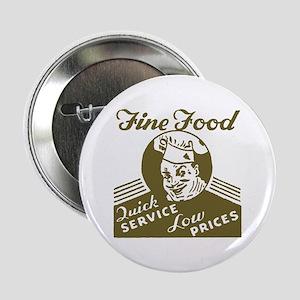 Retro Fine Food Button