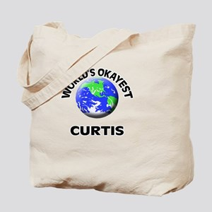 World's Okayest Curtis Tote Bag