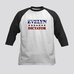 EVELYN for dictator Kids Baseball Jersey