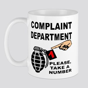Complaint Dept Take Num Mug