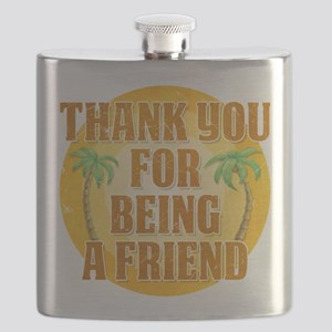 Thank You for Being a Friend Flask