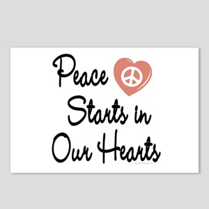 Peace in Our Hearts Postcards (Package of 8)