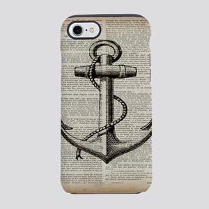 nautical beach vintage ancho iPhone 8/7 Tough Case