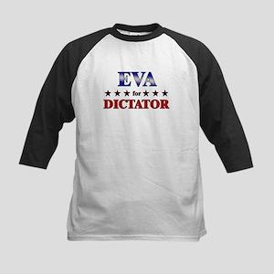 EVA for dictator Kids Baseball Jersey
