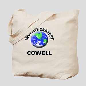 World's Okayest Cowell Tote Bag