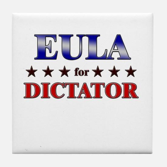 EULA for dictator Tile Coaster