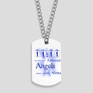 11:11 ANGEL MESSAGE Dog Tags