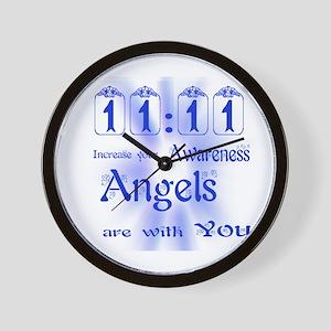 11:11 ANGEL MESSAGE Wall Clock