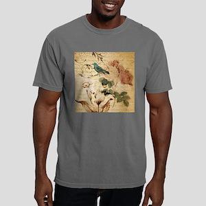 vintage rose bird paris french botanical a T-Shirt