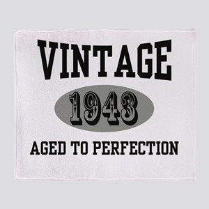 Vintage 1943 Throw Blanket