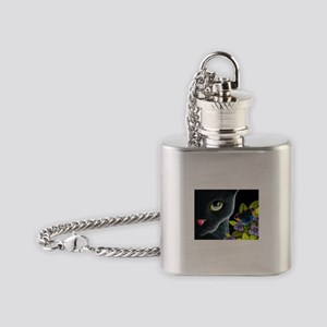 Cat 557 Flask Necklace