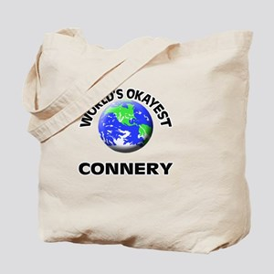 World's Okayest Connery Tote Bag