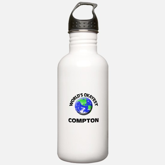 World's Okayest Compto Water Bottle
