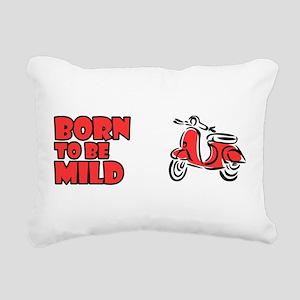 Born to be Mild Rectangular Canvas Pillow