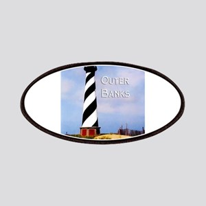 Cape Hatteras Lighthouse Poster Text Outer B Patch