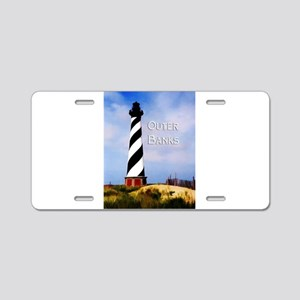 Cape Hatteras Lighthouse Po Aluminum License Plate