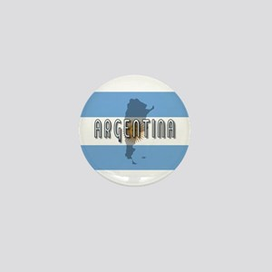 Argentina Flag Extra Mini Button