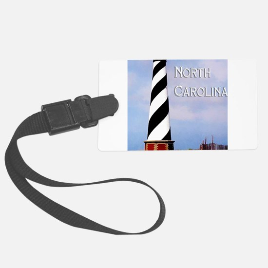 Cape Hatteras Lighthouse Poster Luggage Tag