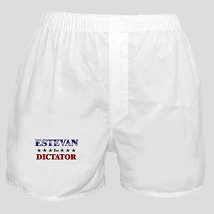 ESTEVAN for dictator Boxer Shorts