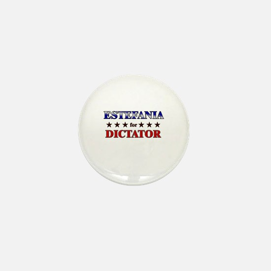 ESTEFANIA for dictator Mini Button
